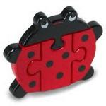 Wooden Ladybird Jigsaw Puzzle