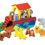 Traditional Wooden Noah's ark